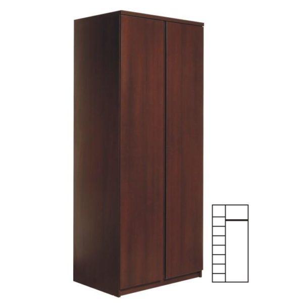 2-dverová skriňa