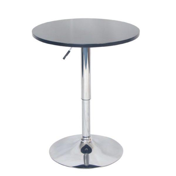 Barový stôl s nastaviteľnou výškou