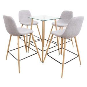 Jedálenský set stôl/štyri stoličky