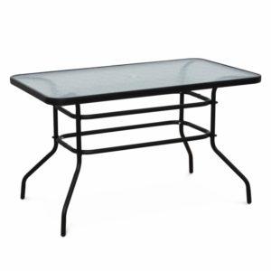 Jedálenský stôl s otvorom na slnečník
