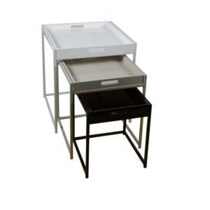 Set 3 príručných stolíkov