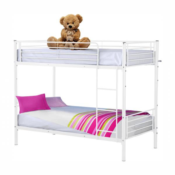Kovová poschodová rozložiteľná posteľ