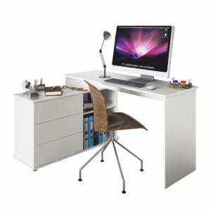 Univerzálny rohový PC stôl