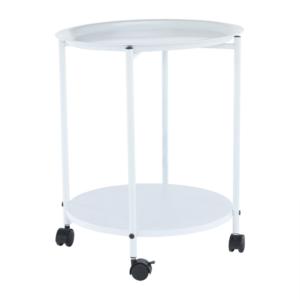 Príručný stolík s odkladacou táckou