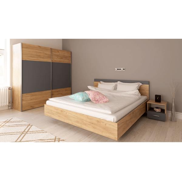 Spálňový komplet (posteľ 160x200 cm)