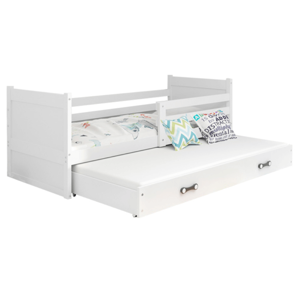 Drevená posteľ s prístelkou