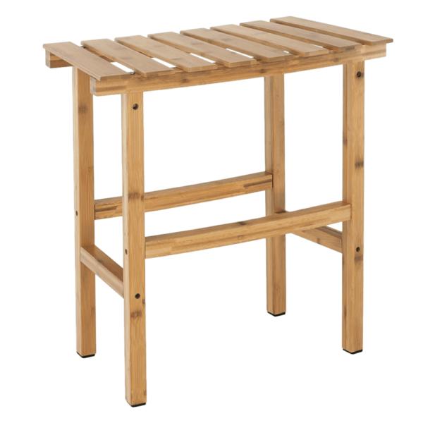 Príručný stolík k vírivke v tvare oblúka