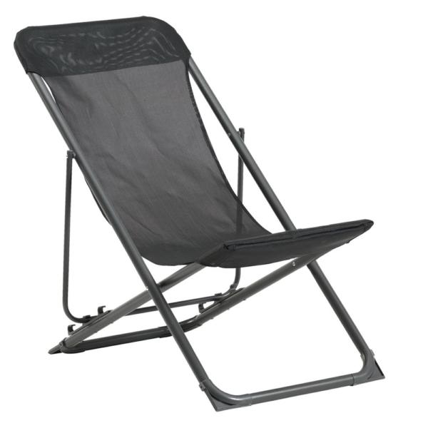 Skladacia plážová stolička