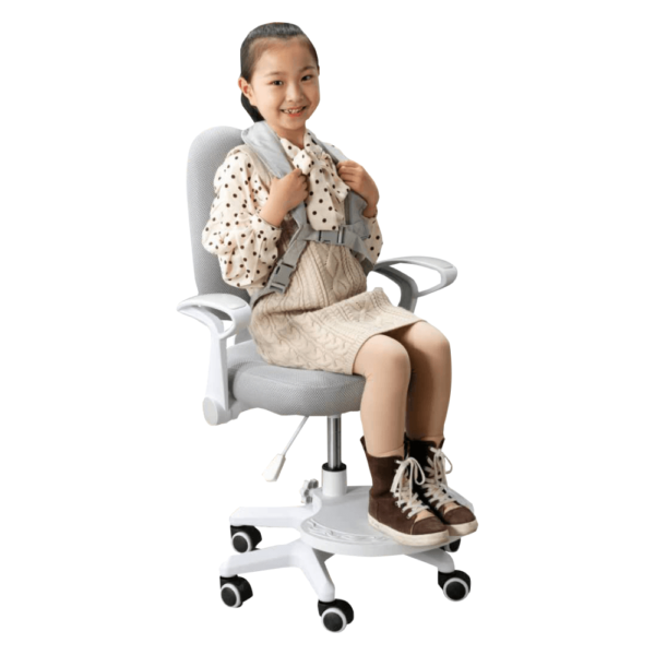 Stolička s podnožou a trakmi