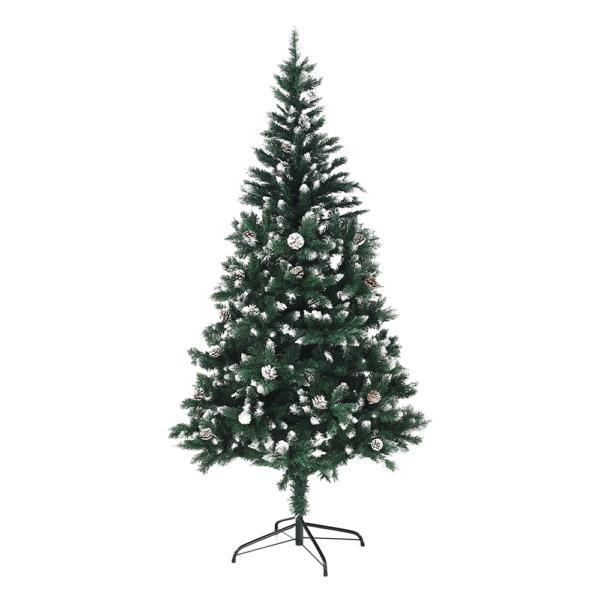 Vianočný stromček so šiškami