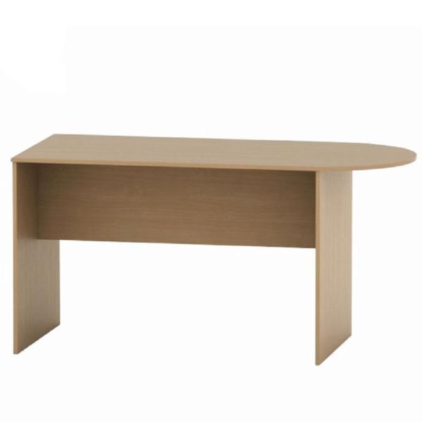 Zasadací stôl s oblúkom 150